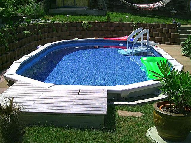 Mare kreta oval 1 for Pool aufstellbecken oval