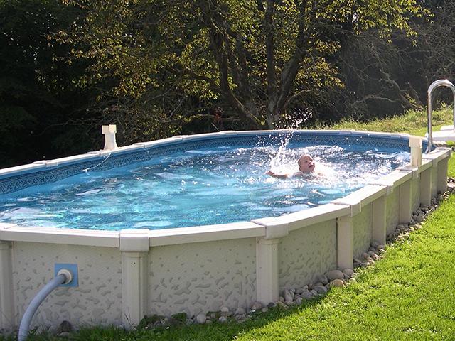 Mare kreta oval 6 for Pool aufstellbecken oval