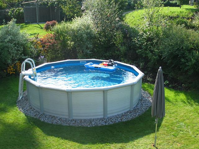 Mare kreta rund 2 for Pool aufstellbecken rund