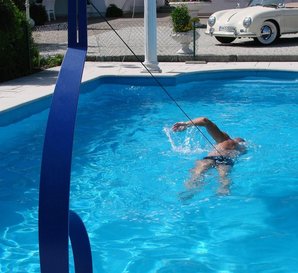 Schwimmtrainer royal for Schwimmbad gegenstromanlage